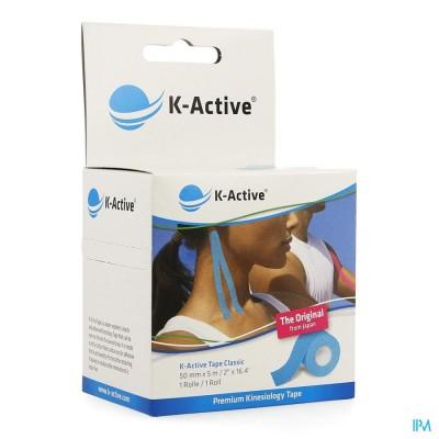 K-Active Tape Blue 5,0cmx5m