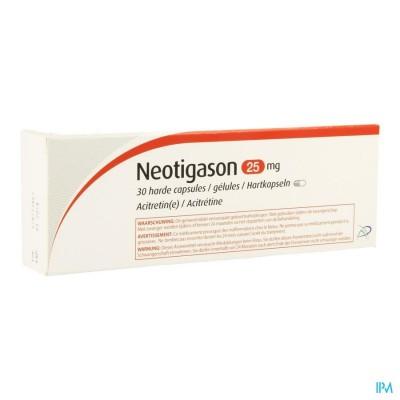 Neotigason Caps 30x25mg