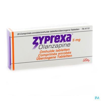 Zyprexa Comp Enrobe - Omhulde 28 X 5mg