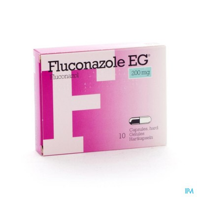 Fluconazol Eg 200mg Caps 10