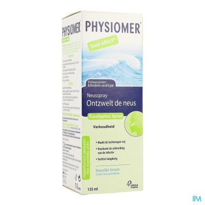 Physiomer Eucalyptus Spray 135ml