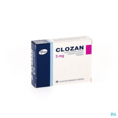 Clozan Comp. 20 X 5mg