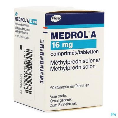 Medrol A Comp 50x16mg
