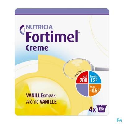 Fortimel Creme Vanille 4x125gr