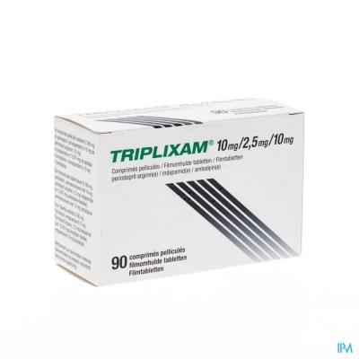 Triplixam 10mg/2,50mg/10mg Filmomh Comp 90