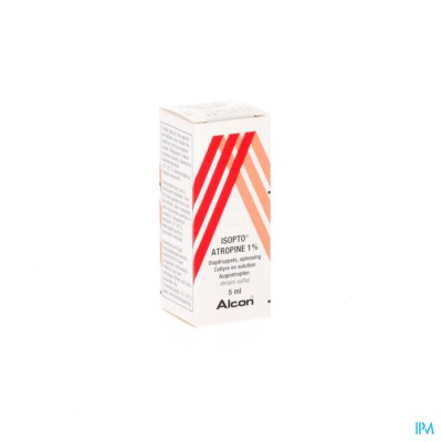 Isopto Atropine 1,0% Collyre 5ml