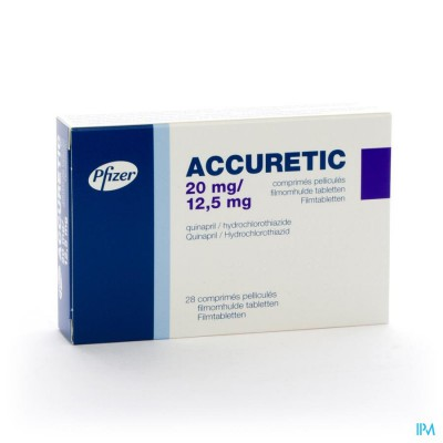 Accuretic Comp 28x20mg/12,5mg