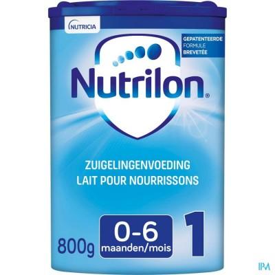 Nutrilon 1   poeder 800g volledige zuigelingenvoeding