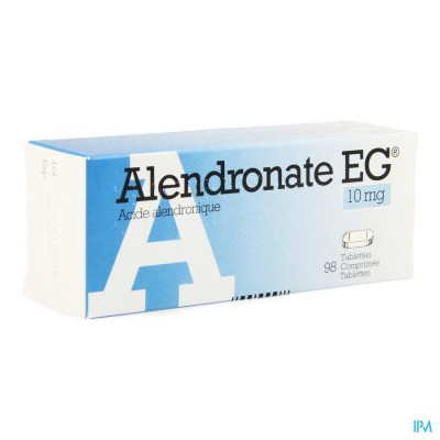 Alendronate Eg 10mg Comp 98 X 10mg