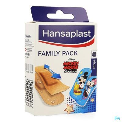 Hansaplast Pleister Family Pack Strips 40