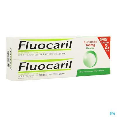 Fluocaril Bi-fluore 145 Munt Duo 2x75ml