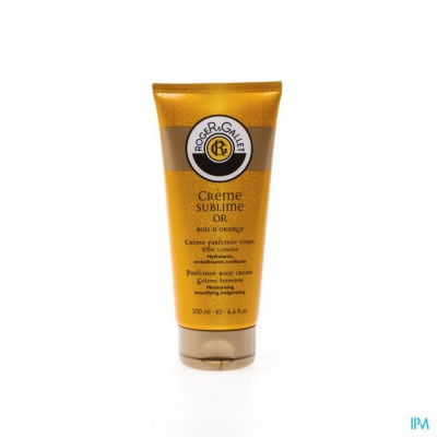 Roger&gallet Bois Orange Creme Sublime Or 200ml