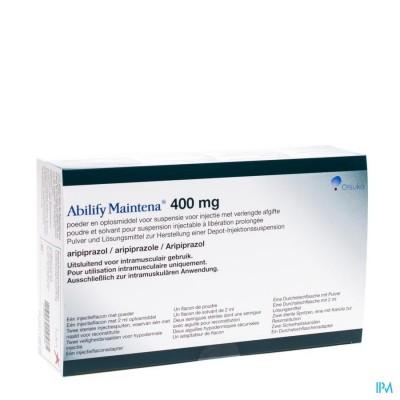 Abilify Maintena 1 Fl 400mg+ 1 Fl 2ml