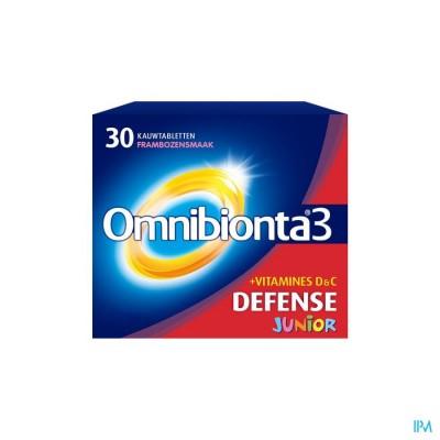 Omnibionta3 Junior Multivitamines voor Kinderen (30 tabletten)