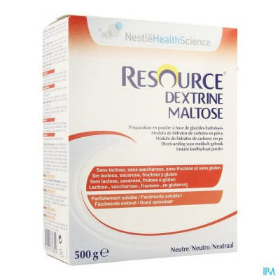 Resource Dextrine Maltose Pdr 500g 12061029