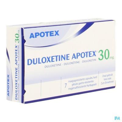 Duloxetine Apotex 30mg Maagsapresist. Caps 7