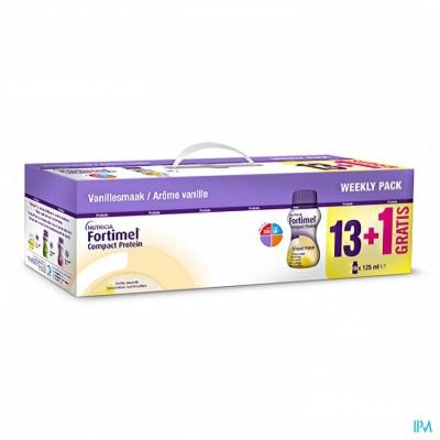 Fortimel Compact Protein Week Pack Vanil. 14x125ml