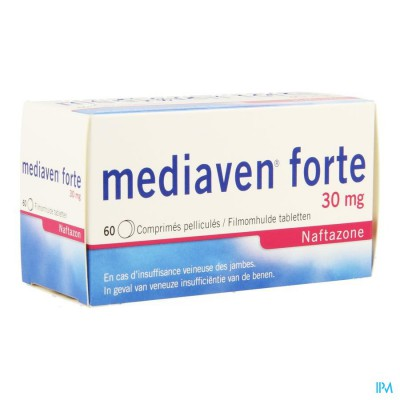 Mediaven Forte Comp 60 X 30mg