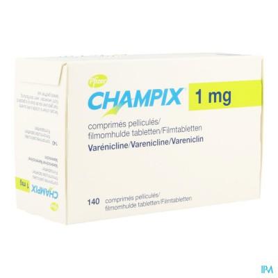 Champix Comp 140 X 1mg Aclar/pvc/alu