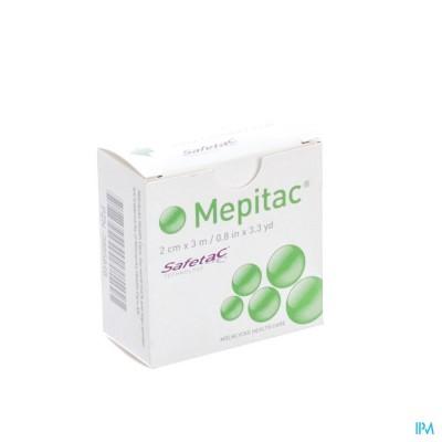 Mepitac Zachte Fixatietape Sil 2cmx3,0m 1 298300