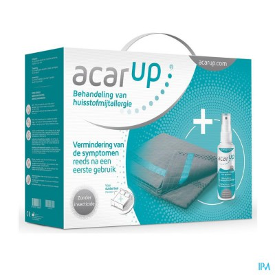 Acar Up Huisstofmijt Kit Duo 2 Textiel.+spray100ml