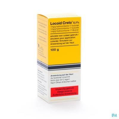 Locoid Crelo Emuls 100ml 1mg/g
