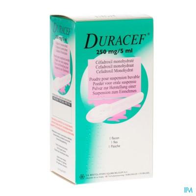 Duracef Susp Or 1x80ml 250mg/5ml