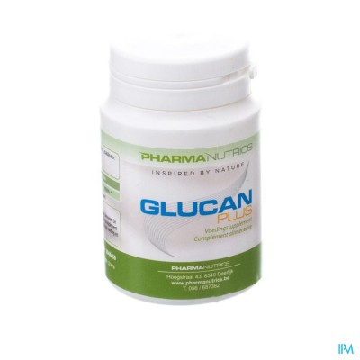 Glucan Plus Caps 30 Pharmanutrics