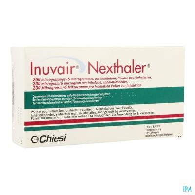 Inuvair 200/6mcg Nexthaler Doses 1x120
