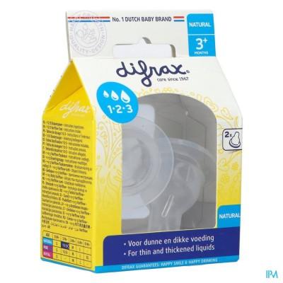 Difrax Flessenspeen Natural 1-2-3 674
