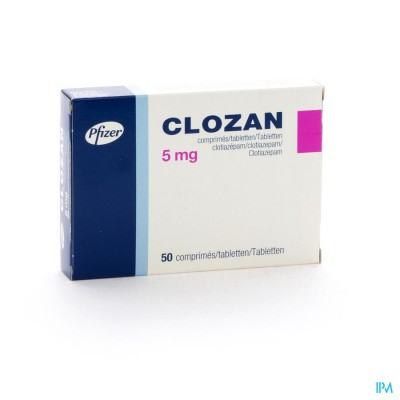 Clozan Comp. 50 X 5mg