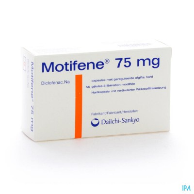 Motifene Caps 56 X 75mg
