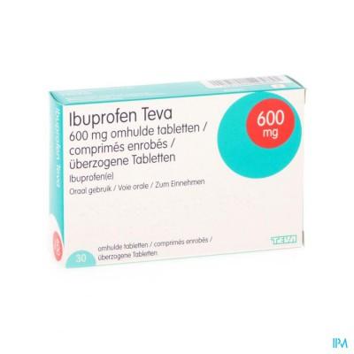 Ibuprofen Teva Comp 30 X 600mg