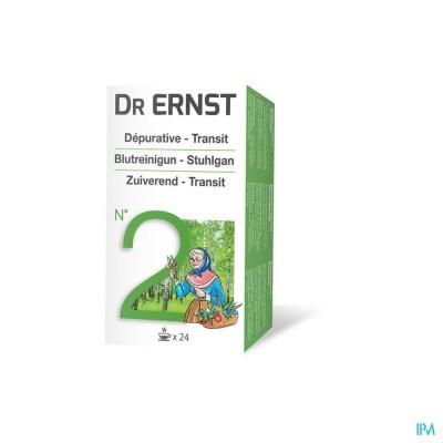 Ernst Dr Filt N 2 Thee Depur. Laxat