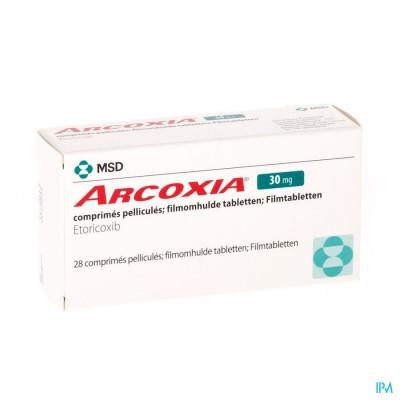 Arcoxia 30mg Comp 28