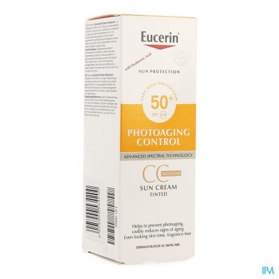 Eucerin Sun Cc Creme Medium Ip50+ 50ml
