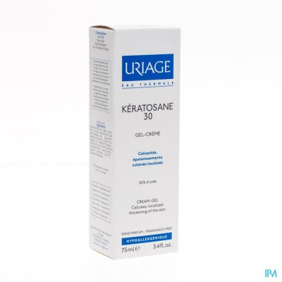 Uriage Keratosane 30 Gel Creme 75ml