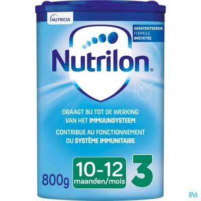 Nutrilon 3 Opvolgmelk baby vanaf 10 maanden melkpoeder 800g