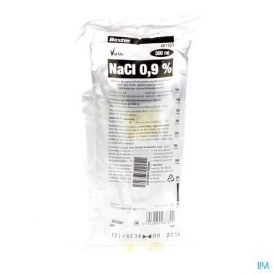 Bx Nacl 0,9% Viaflo Sac-zak 500ml