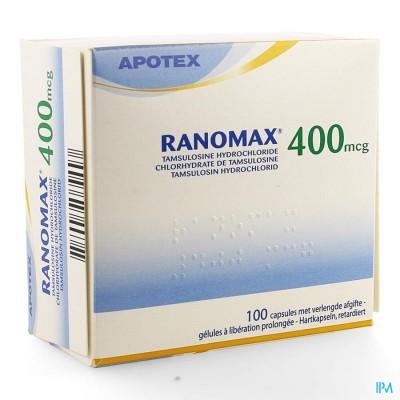 Ranomax Apotex 400mcg Caps 100 X 400 Mcg