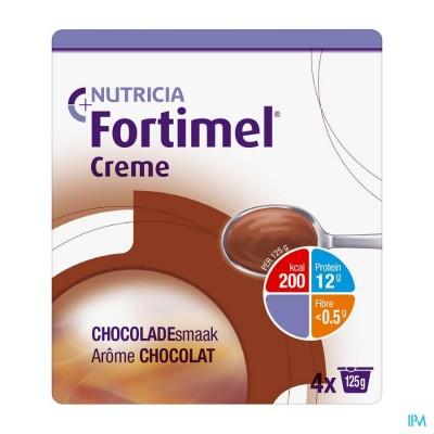 Fortimel Creme Chocolade 4x125gr