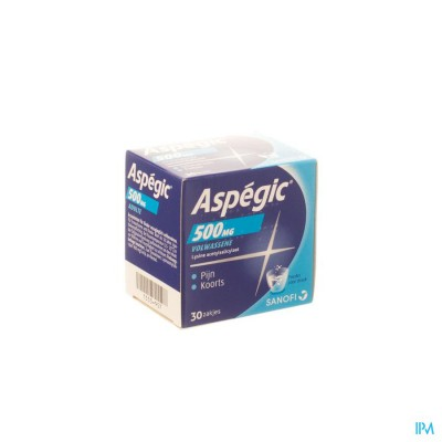 Aspegic 500 Pulv 30x 500mg