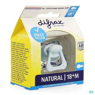 Difrax Fopspeen Natural 18+ M