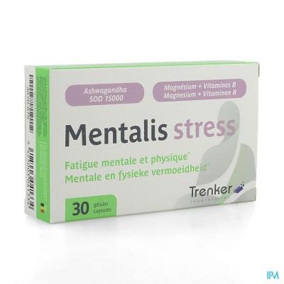 Mentalis Stress Caps 30