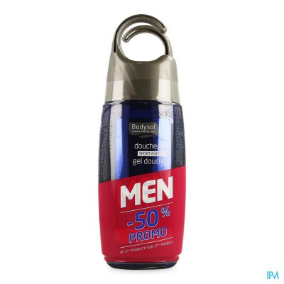 Bodysol Men Douchegel Sport 2x250ml 2e -50%