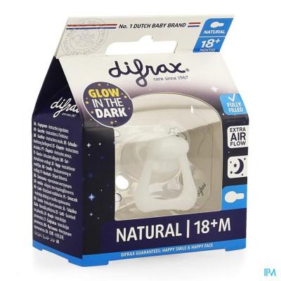 Difrax Fopspeen Natural 18+ Nacht