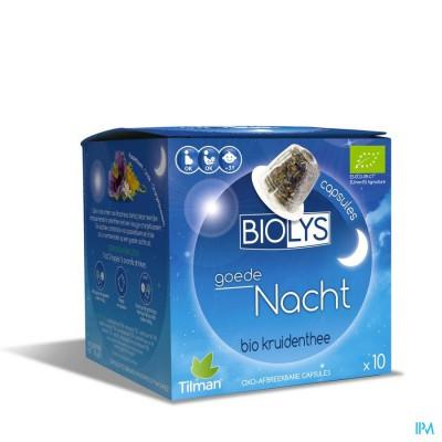 Biolys Goede Nacht Caps 10