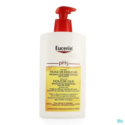 Eucerin Ph5 Douche Olie 1000ml