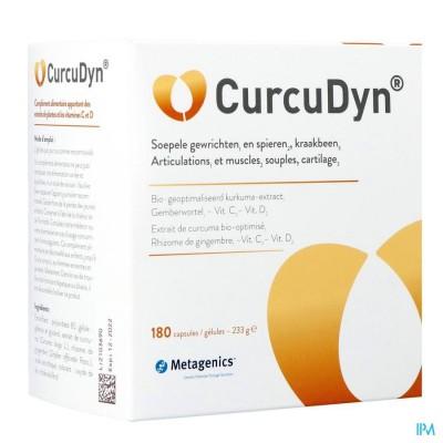 Curcudyn Caps 180 19387 Metagenics