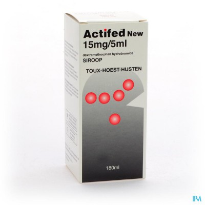 Actifed New Sir Fl 180ml